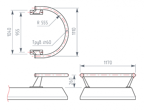 конструкция дуг безопасности азс