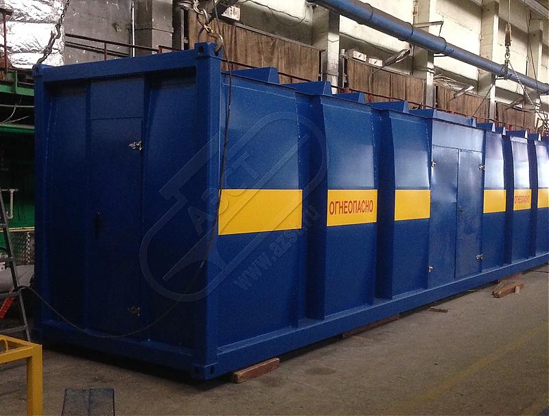 Современные модульные АЗС контейнерного типа от компании «ПНСК»